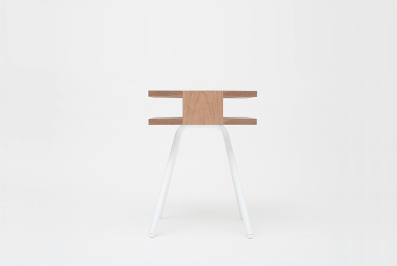 Steel Wood Table 4