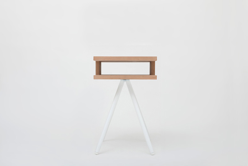 Steel Wood Table 5