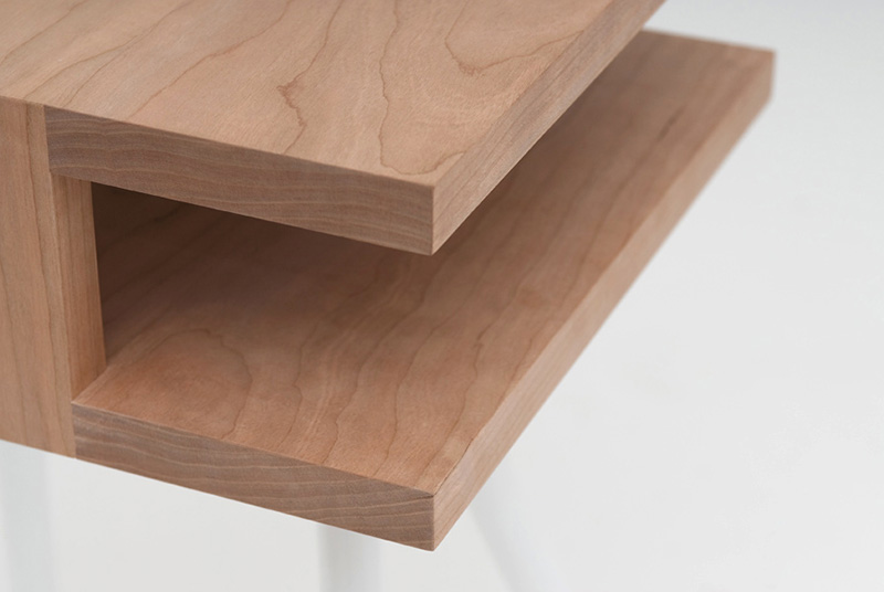 Steel Wood Table 7