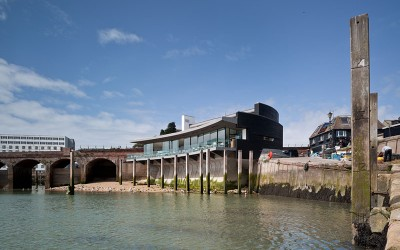 Rocksalt Seafood Restaurant by Guy Hollaway Architects