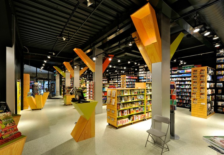Tanum Karl Johan Bookstore Renovation 1