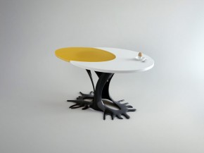 Egg Inspired Table by WAMHOUSE