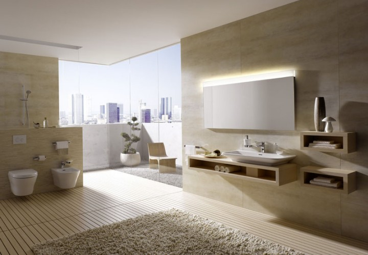 Modular Home bathroom series 1