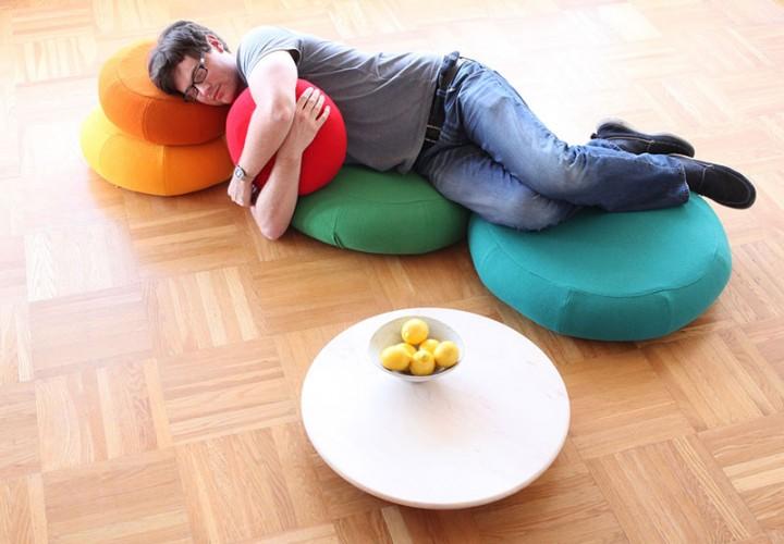 Mound of Rounds Modular Furniture System 1