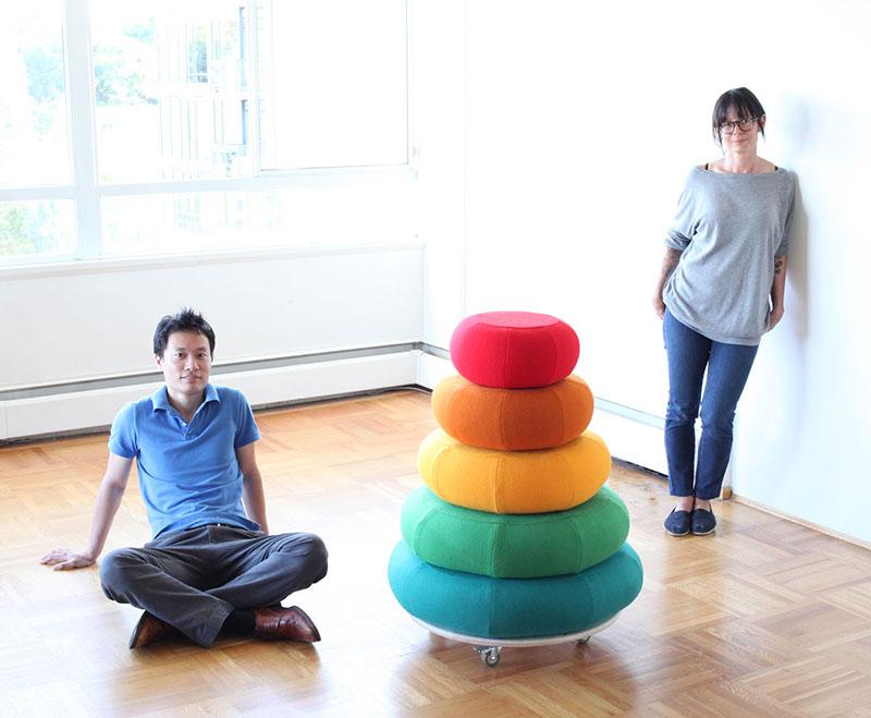 Mound of Rounds Modular Furniture System 2
