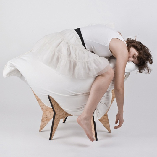 Nest Chair and Stool by ALLT