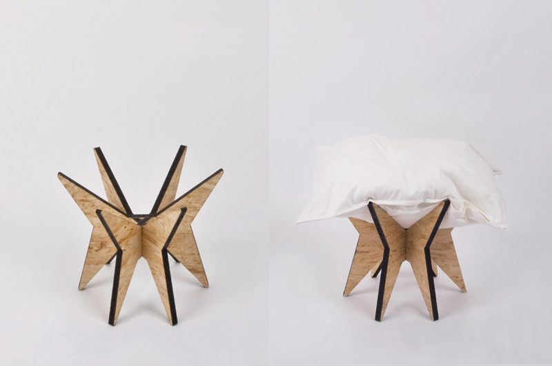 Nest Stool by ALLT 1