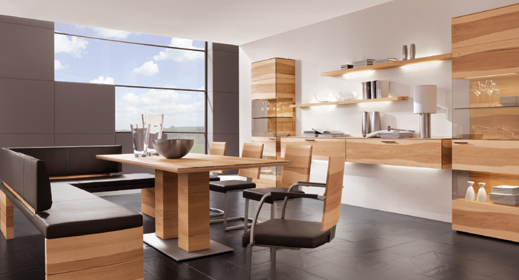 Pecano living and dining room furniture series 7