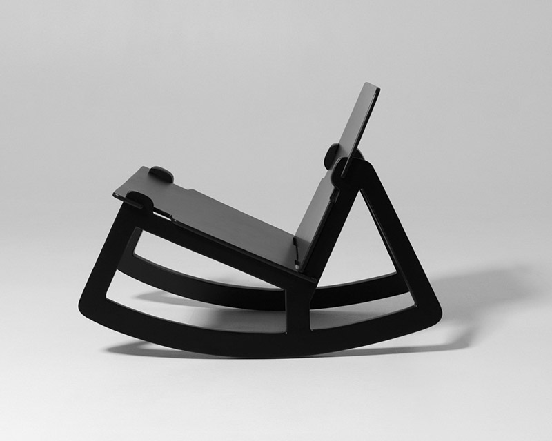 Rock Chair by Färg & Blanche