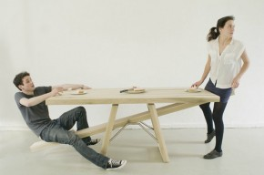 Seesaw Table by Marleen Jansen