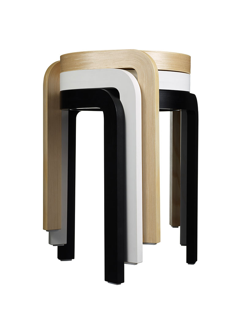 Spin Stackable Stool 3