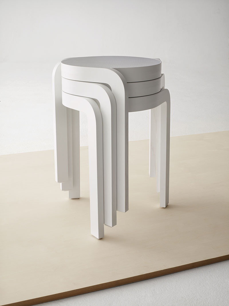 Spin Stackable Stool 4