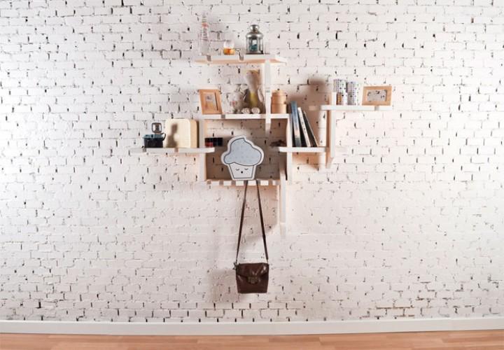 Tentacle wall shelf 1