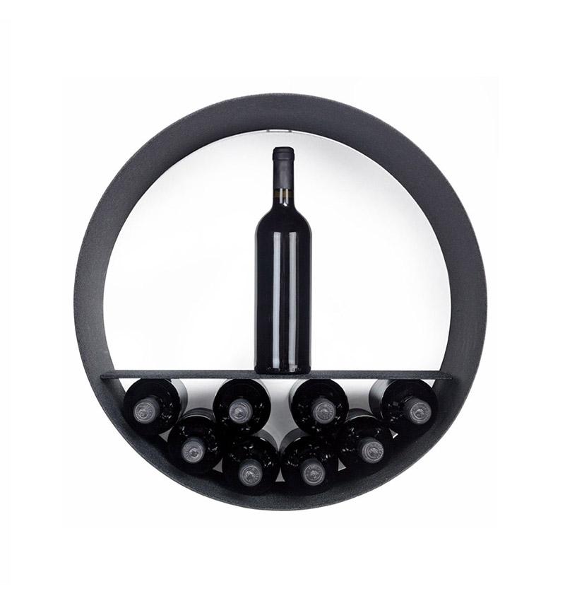 Tubola round wall-mounted storage shelves 5
