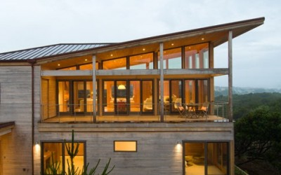 Oregon Coast Beach House by Boora Architects