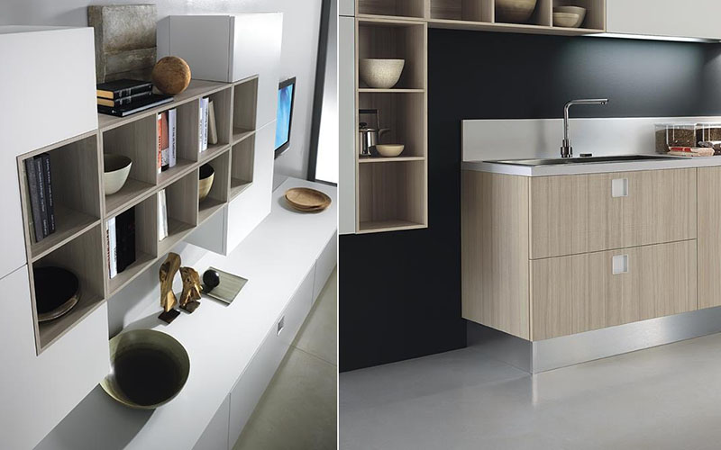 Quadra Modular Kitchen