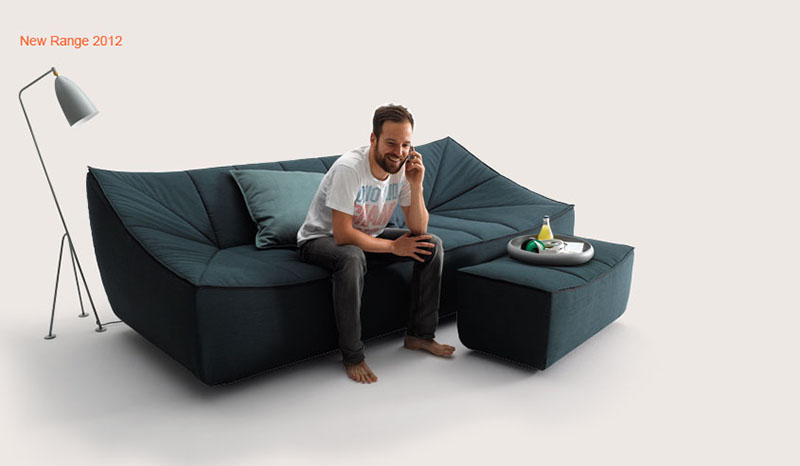 Bahir Sofa by Jörg Boner for COR 11