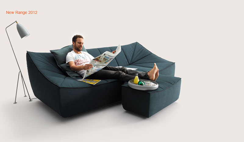 Bahir Sofa by Jörg Boner for COR 4