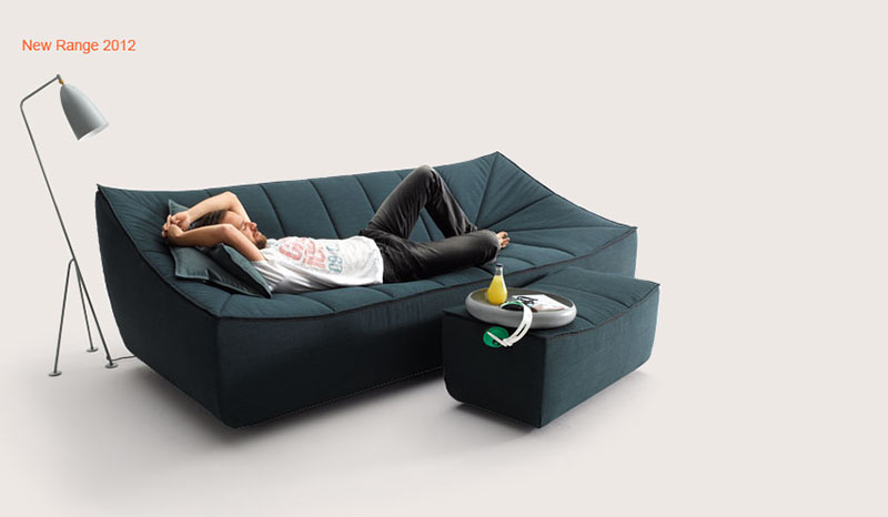 Bahir Sofa by Jörg Boner for COR 5