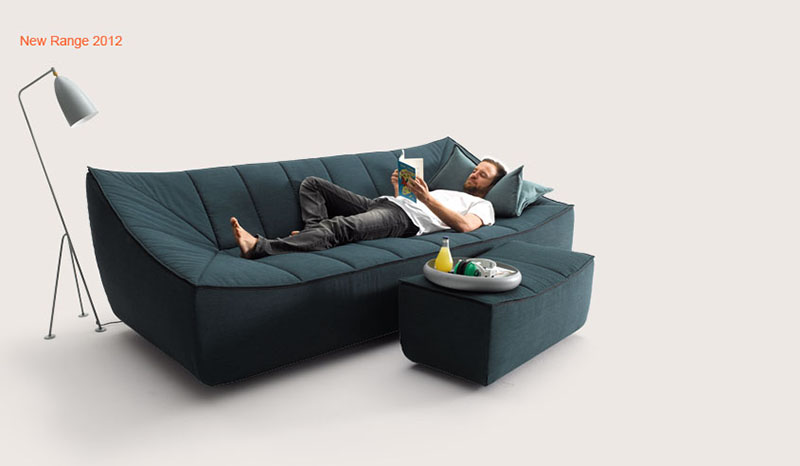 Bahir Sofa by Jörg Boner for COR 7