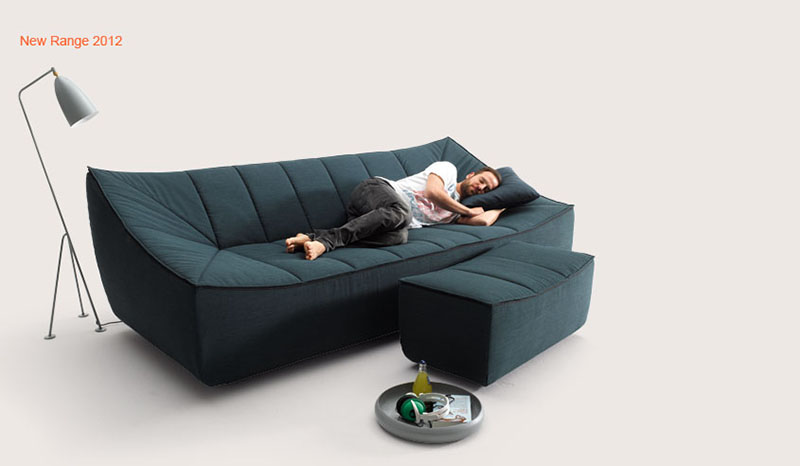Bahir Sofa by Jörg Boner for COR 8