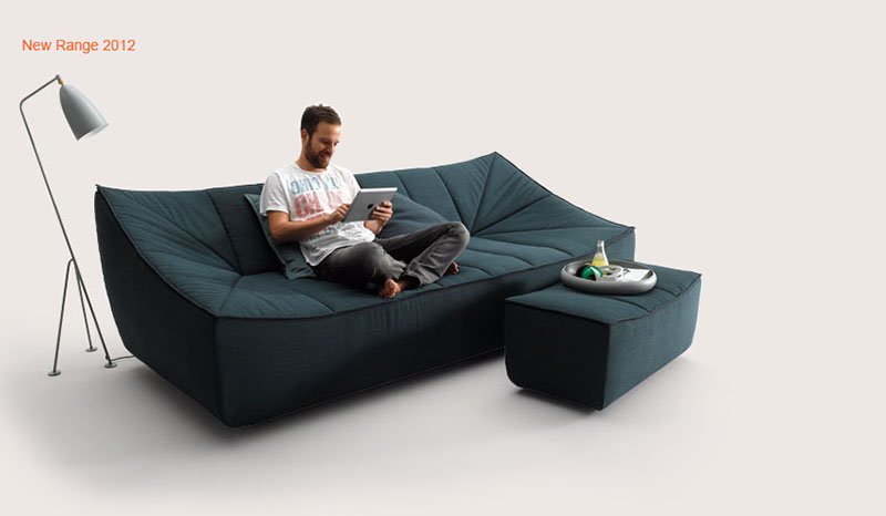 Bahir Sofa by Jörg Boner for COR 9