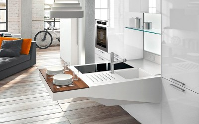 Board Compact Kitchen by Pietro Arosio for Snaidero