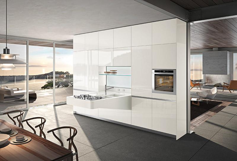 Board Compact Kitchen by Pietro Arosio