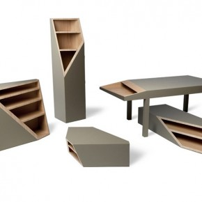 CUTLINE Furniture Collection by Alessandro Busana