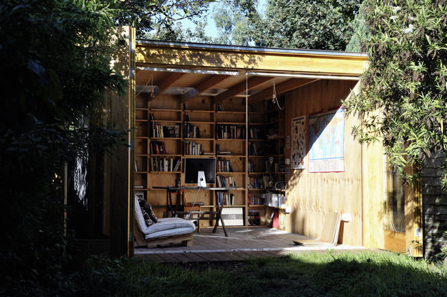 Hackney shed by office sian for Garden office and shed