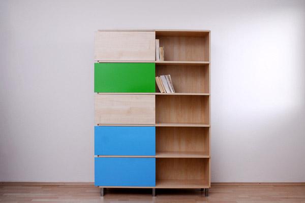 Hide & Show Bookshelf by Miriama Balazova 2