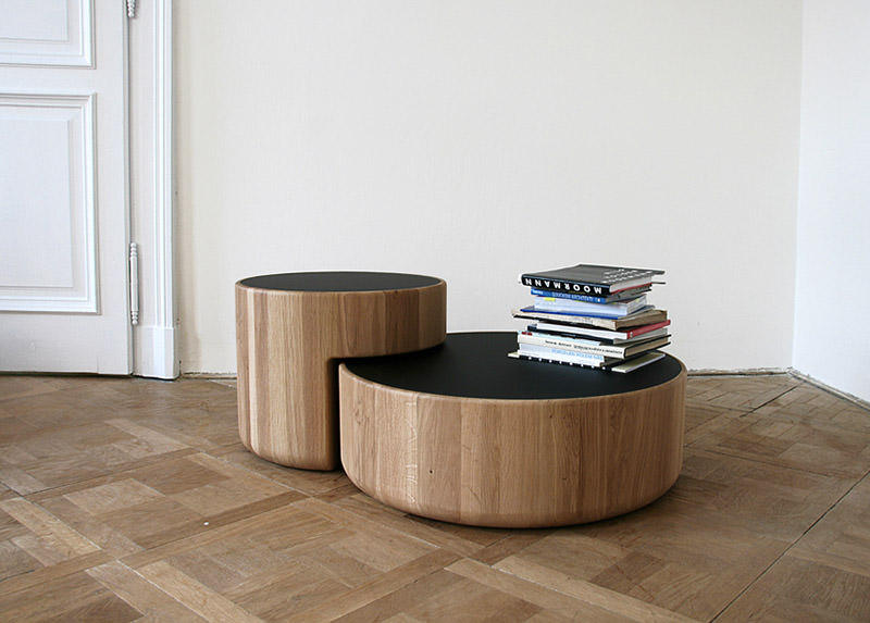 Levels Intersecting Coffee Tables