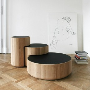 Levels: Intersecting Low Tables by Dan Yeffet and Lucie Koldova