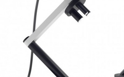 Microscope LED Table Lamp by Michael Samoriz