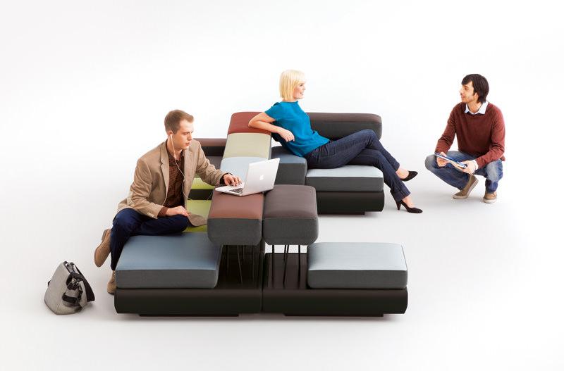 Plot Modular Seating by Osko+Deichmann for Brunner