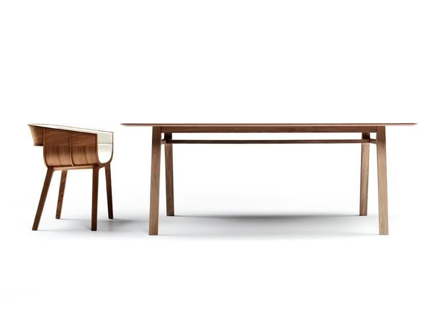Pontoon dining table