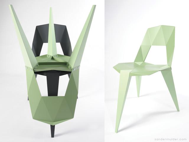 Pythagoras Three Legged Chair