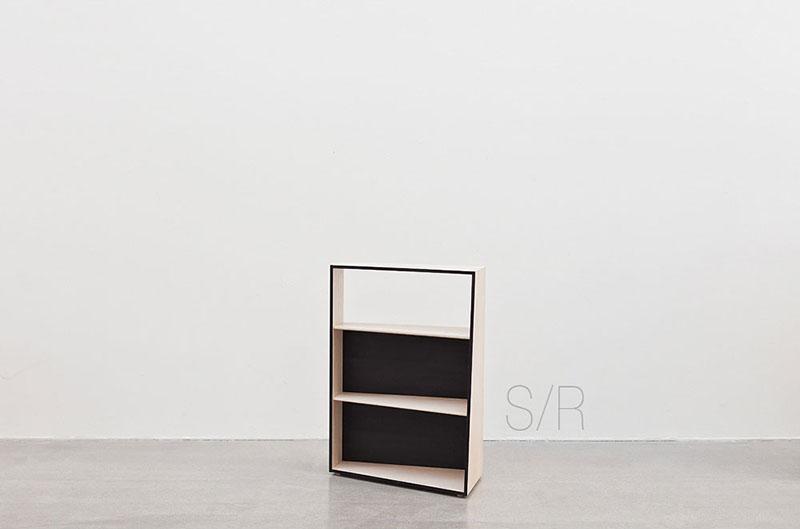 SML/LR Standing Bookshelf by Luna Seo