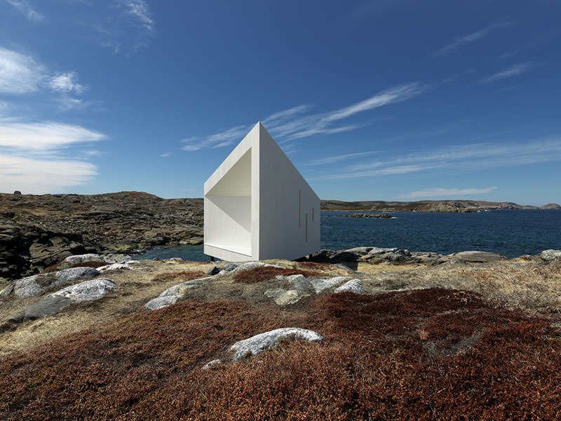 Fogo Island Squish Studio by Saunders Architecture