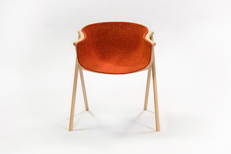 Bai Dining Chair by Ander Lizaso