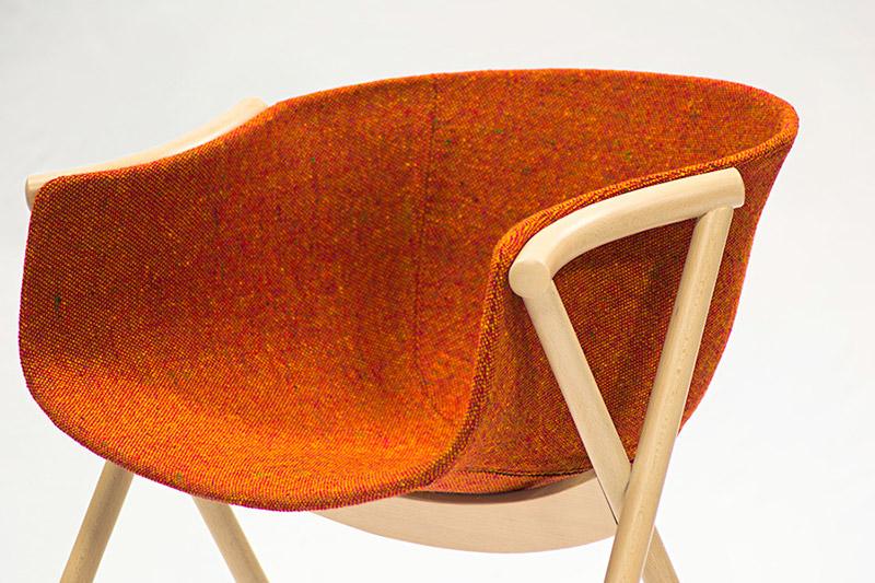 Bai Beech Wood Dining Chair by Ander Lizaso