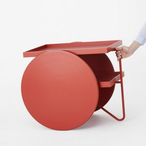 Chariot Mobile Side Table by GamFratesi for Casamania