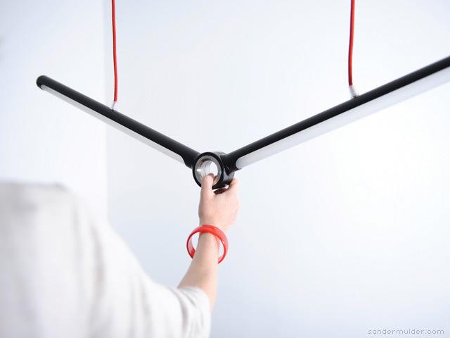 Cyclops hanging Lamp by Sander Mulder