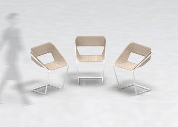 Normal Simple Chair Design by Stefano Merlo