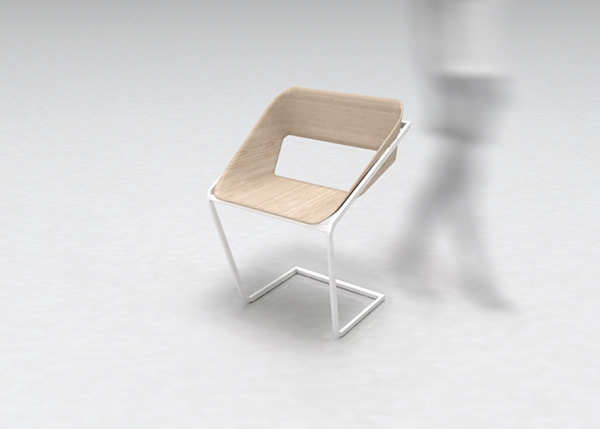 Normal Dining Chair by Stefano Merlo
