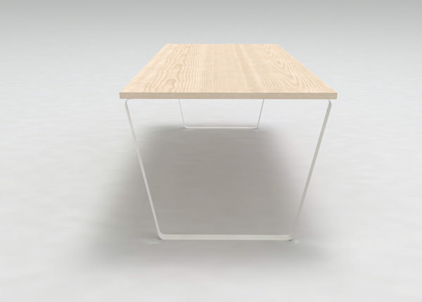 Normal Table Design by Stefano Merlo