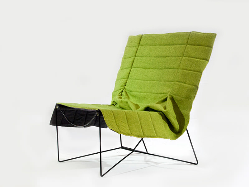 Promenade Armchair by 4P1B Design Studio