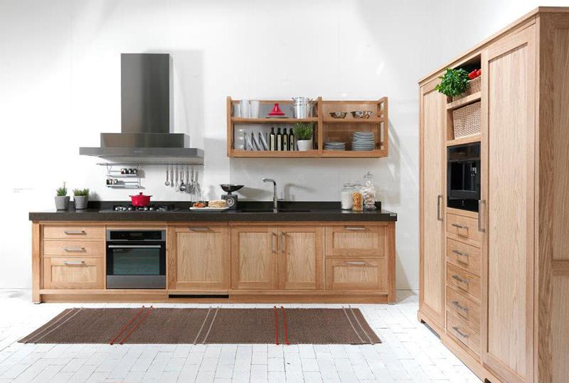 Seven Days Elegant Wooden Kitchen Design