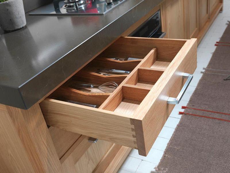 Seven Days Wooden Kitchen Drawer Design