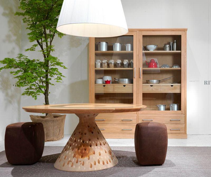 Seven Days Wooden Kitchen Crockery Shelf